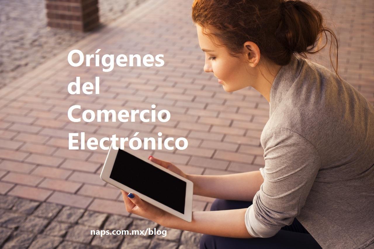 origenes comercio electronico