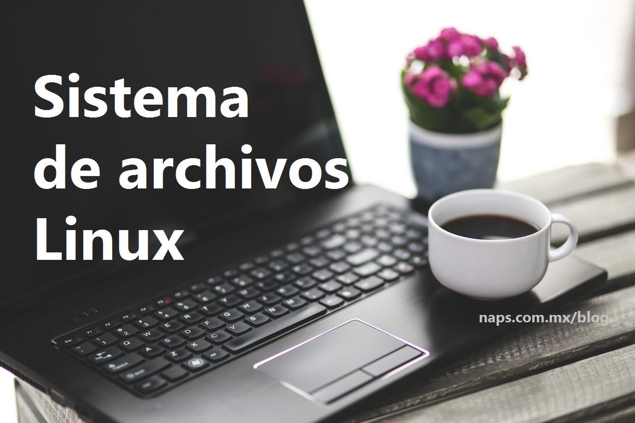 sistema de archivos linux