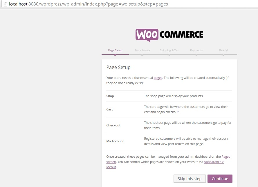 Instalación de WordPress y WooCommerce