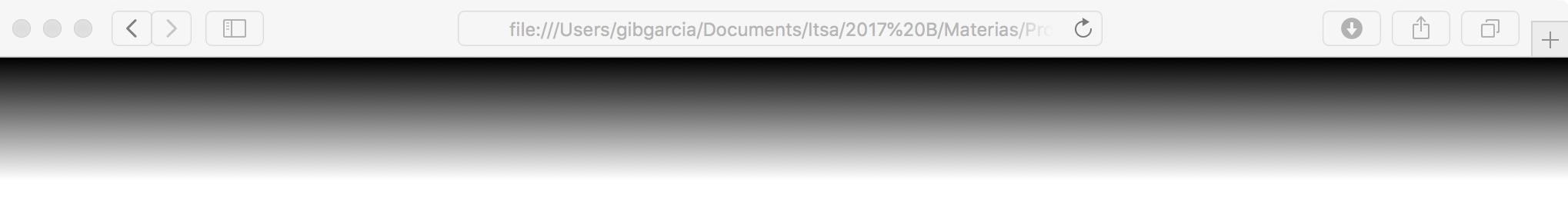 Un gradiente usando el prefijo -webkit-