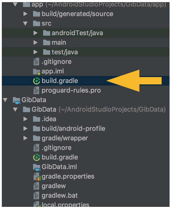 Archivo Build.gradle