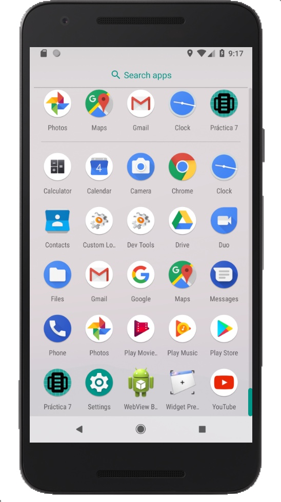 Icono de la aplicación cambiado